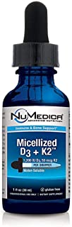 GS Micellized D3 + K2 1 fl. oz by NuMedica