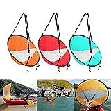 KINGDUO Kayak Vela Scout Viento Viento Paddle Remo Inflable Barco Popup Canoa Kayak Accesorios - Naranja