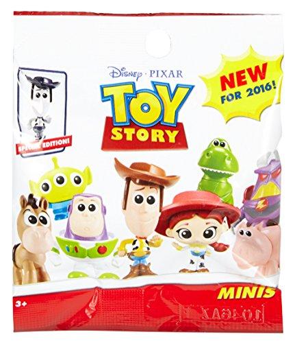 Disney Toy Story Mini Figuras de los Personajes de la Película, Modelos Surtidos (Mattel DNW42)