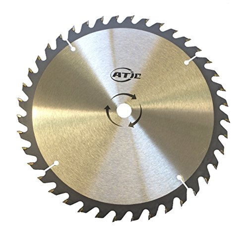 9' 40 Tooth Carbide Tip General Purpose Wood Cutting Circular Saw Blade with 5/8' Arbor
