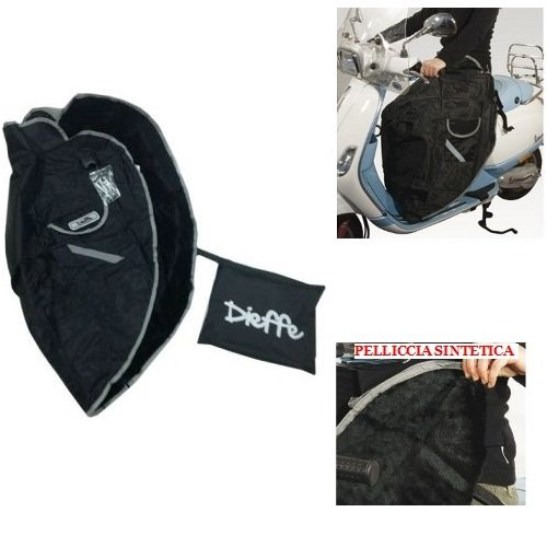 pour Aprilia Scarabeo 500 GT ABS 2005 – 2007 Chancelière pour Scooter Couverture Thermique pour Porter DIEFFE P01 Universel imperméable