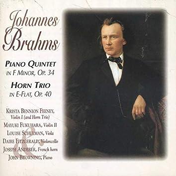 Brahms: Piano Quintet - Horn Trio