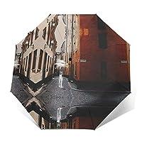 ヨルシカ だから僕は音楽を辞めた 折りたたみ傘 遮光 折りたたみ 傘超撥水紫外線遮蔽日傘 UVカット 男女 兼用ワンタッチ 自動 開閉 三段折りたたみ傘 晴雨兼用 61cm