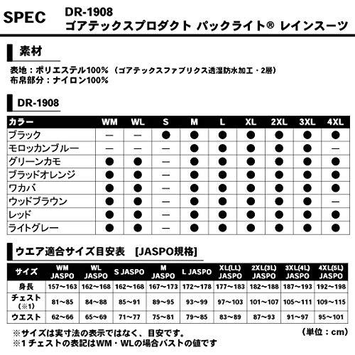 DAIWA(ダイワ)『ゴアテックスプロダクトパックライトレインスーツ』
