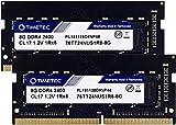 Timetec Hynix IC DDR4 2400MHz PC4-19200 Non ECC Unbuffered 1.2V CL17 1Rx8 Single Rank 260 Pin SODIMM Laptop Notebook Computer Memory Ram Module Upgrade...