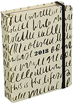 Kate Spade 2017-18 17 Month Academic Calender This is Life 7.75  x 6   173146