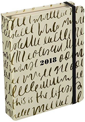 "Kate Spade 2017-18 17 Month Academic Calender, This is Life, 7.75"" x 6"" (173146)"