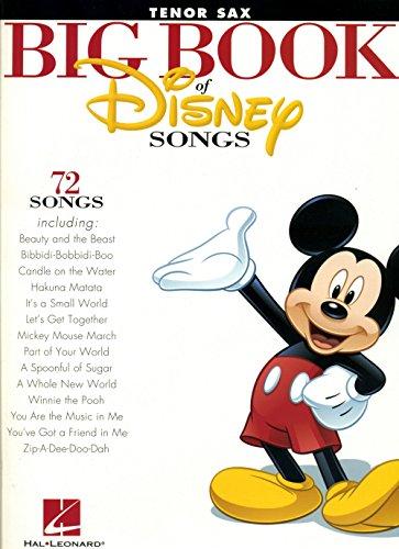 Hal Leonard The Big Book Of Disney Songs Clarinet