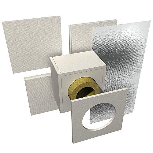 Brandschutz Wand-/Deckendurchführung Raab Schornstein DW 150 120 mm
