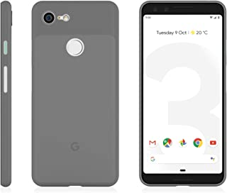 MNML Case Pixel 3, Thin Minimalist Slim Phone Case Cover (Pixel 3, Frosted Black)