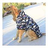 QHKS 3XL 4XL 5XL 6XL 7XL 8XL 9XL ropa de perro grande disfraz de mascota mediano y grande con capucha para perro labrador abrigo abrigo deportivo (color: como se muestra, tamaño: 9XL)