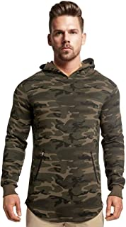 Peppyzone Men's Cotton Hooded Hoodie