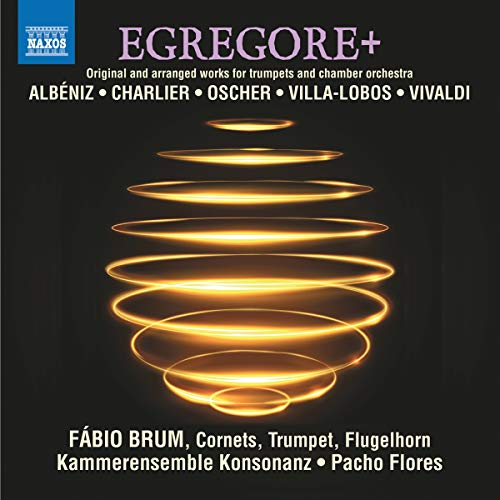 Trumpets and Chamber Orchestra Music - Albéniz, I./ Charlier, T./ Oscher, E