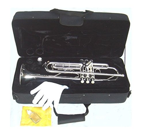 YMC Trumpet New Concert Band Real Silver plated...