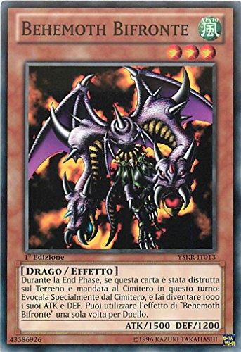 Yu-Gi-Oh! YSKR-IT013 Behemoth Bifront - Baraja Introductora Kaiba Il Ritorno - Unlimited Edition - Comune