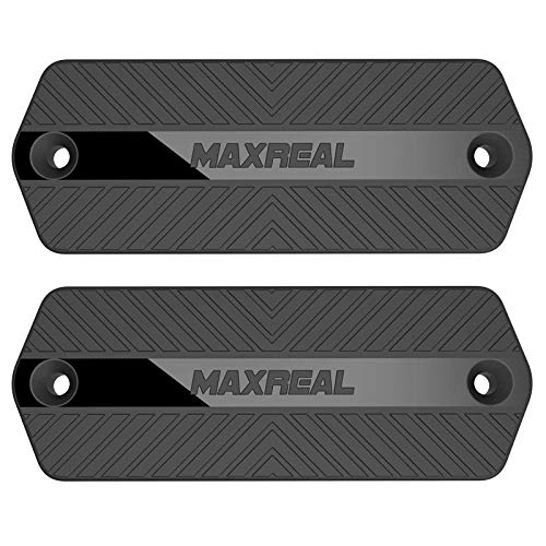 MAXREAL Gun Magnet 55lbs Rated.HQ Rubber Coated Magnetic Pistol Mount & Holster for Vehicle, Truck, Home, Car, Safe, Table & Wall. Tactical Firearm Concealment Holder Accessories (2-Pack)