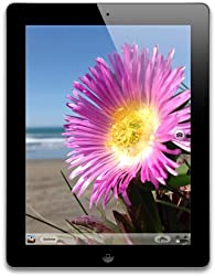 iPad with a flower on the screen