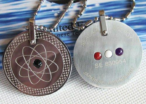 BioEnergy International Leistungsstarke Quantum Scalar-Energie-Anhänger Bio Halskette Gleichgewicht Powe 152