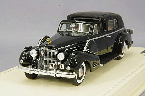 Truescale Miniatures- Miniature Voiture de Collection, TSMCE154302, Noir
