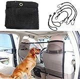 Pet Barrier Negro Protectora portátil de la Red del Acoplamiento para el Coche para los Perros...