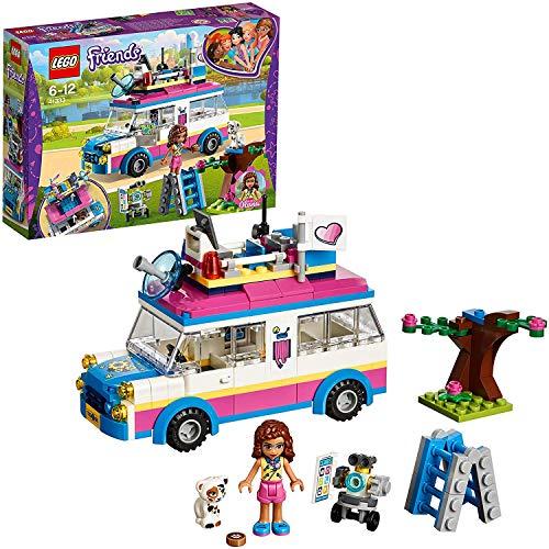 LEGO Friends - Vehículo de Operaciones de Olivia, Set de Construcción con Mini Muñeca y Gato para Niñas y Niños de 6 a 12 Años, Incluye Vehículo (41333)