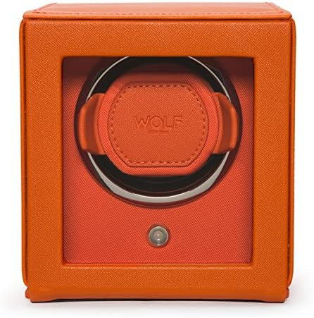 Cub Single Automatic Watch Winder with Cover by Wolf