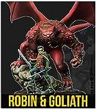KNIGHT MODELS Juego de Mesa - Miniaturas Resina DC Comics Superheroe - Batman - Robin & Goliath