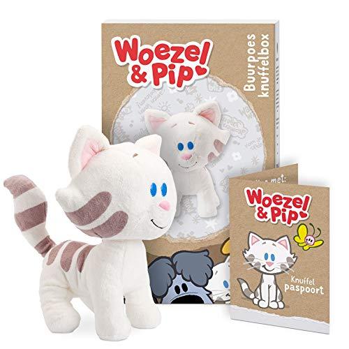 Persoonlijke Woezel & Pip knuffelbox - Buurpoes