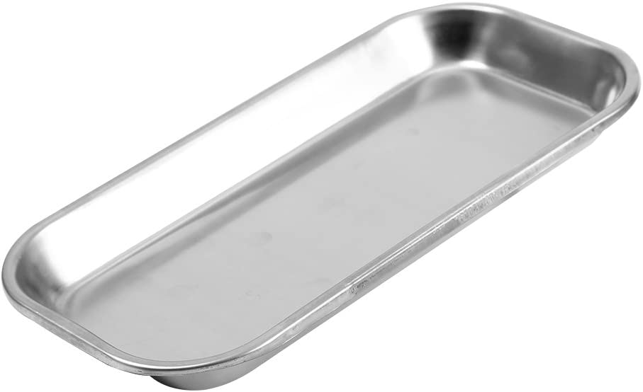 Instrument Tray Very popular! Made Of 201 Lab for Stainless Save money Steel Clinic