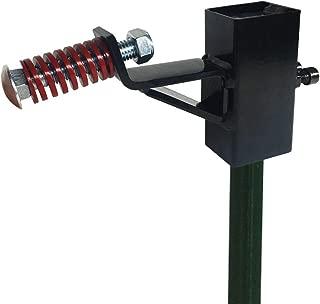 Highwild T-Post Target Hanger - Target Mount Bracket - AR500 Steel Gong Targets Conversion Adapter