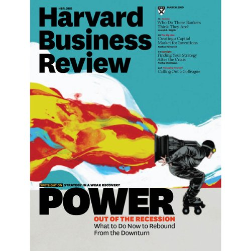 Harvard Business Review, March 2010 audiobook cover art