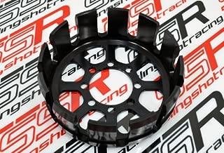 Black Ducati Sport Classic GT1000 Supersport Billet Aluminum Clutch Basket