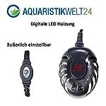 AquaOne-Digitale-Aquarium-Heizung-50-Watt-Heizer-Regelheizer-100l-Swasser-Meerwasser-Aquaheat-Aquarien-Regelbar-Wasser