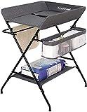 Langer table pliante bébé enfant en bas âge bébé table de couche portable pour bébé 0-12 mois de Coiffeuse,With Storage