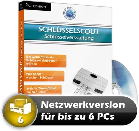 Faktura Manager Schlüsselverwaltung Rechnungsprogramm Netzwerk Software 6 PC