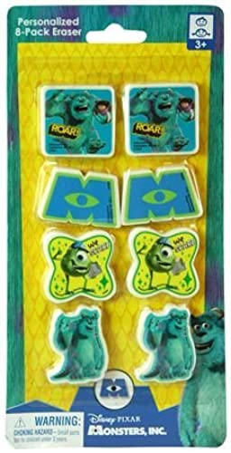 Disney Pixar Monsters University Shaped Erasers - Party Favors - 8 Per Pack by Disney