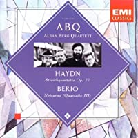 Haydn - Streichquartette Op. 77 ・ Berio - Notturno (Quartetto III) / Alban Berg Quartet (2004-01-01)
