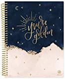 """bloom daily planners 2021-2022 (8.5"""" x 11"""") Academic Year Day Planner (July 2021 - July 2022) - Weekly/Monthly Dated Agenda Calendar Organizer with Tabs - You're Golden"""