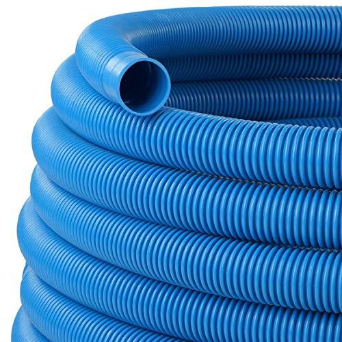 Schlauch24 Piscina Manguera Pool Manguera Manguera Manguera Solar 38mm de diámetro Azul