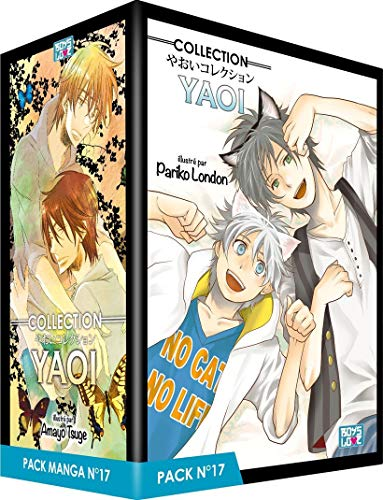 Boy's Love Collection - Pack n°17 - Manga Yaoi (5 tomes)