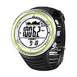 Sunroad fr802a 3ATM Digitale el retroilluminazione w/altimetro + barometro + bussola + ora Mondiale + cronometro sport militare orologio