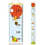 QtGirl Kids Growth Chart, Height Chart for Child Height Measurement Wall Hanging Rulers Ro...