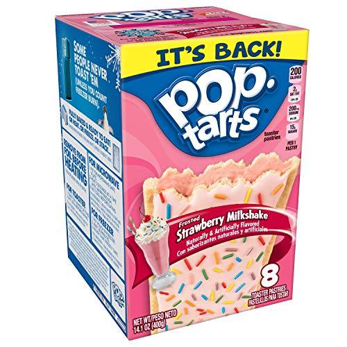 Kellogg's Pop-Tarts Frosted Strawberry Milkshake (400g) - US Import!