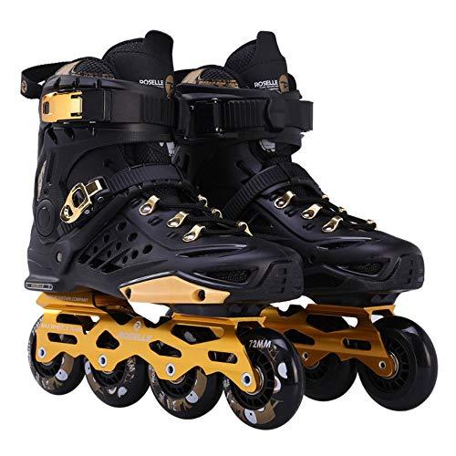 LAYBAY IInline Skates Inliner Original Inline Skates Herren Skates ABEC-9 Rollen Kohlenstoff inliner mit Einstellbarer Größe Inliner Damen Inline Skates