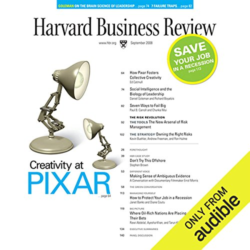 How Pixar Fosters Collective Creativity (Harvard Business Review) cover art