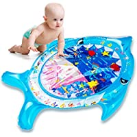 Ayeboovi Tummy Time Mat Inflatable Baby Water Mat Infant Toy