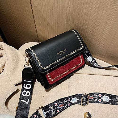 2020 Mini Handtassen Vrouwen Mode Ins Ultra Retro Brede Schouder Band Messenger Tas Eenvoudige Crossbody Tassen