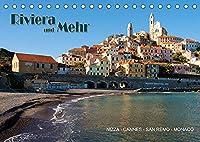 Riviera und Mehr - Nizza, Cannes, San Remo, Monaco (Tischkalender 2022 DIN A5 quer): Bilder entlang der Riviera (Monatskalender, 14 Seiten )