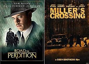 Early Irish American Mob: The Road To Perdition & Miller's Crossing 2-DVD Bundle Coen Brothers/ Tom Hanks/ Paul Newman