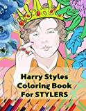 Harry Styles Coloring Book for Stylers: Beautiful Stress Relieving Coloring Pages for Stylers and One Direction Fans! 8.5 in by 11 in Size , Hand-Drawn, Harry Styles and a Little Niall